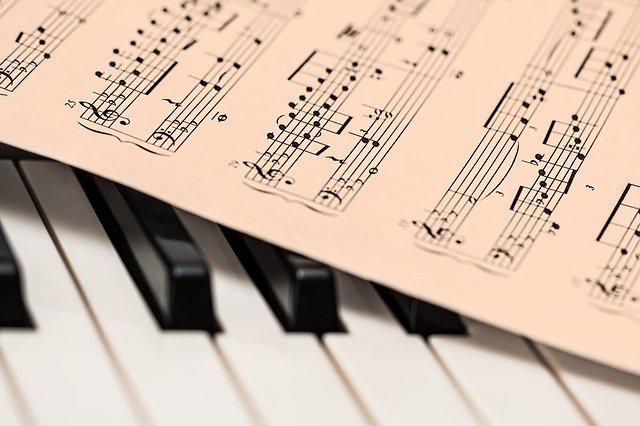 Die Noten und Tasten der Kombinationen